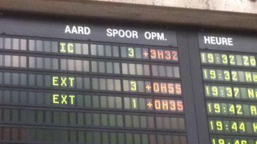 Au total, plus de 3h30 de retard pour ce train.