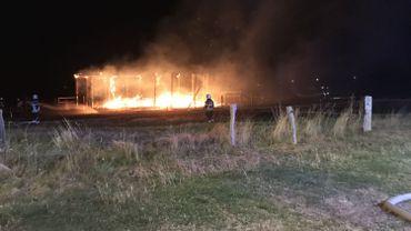 Incendie dans un hangar sur le site qui accueille la Foire de Libramont