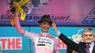 Marco Pinotti en début de Giro
