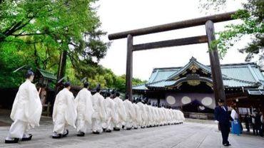 Deux ministres japonais se sont rendus au sanctuaire Yasukuni