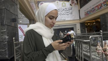Farah Talal, 27 ans est arrivée à La Mecque. Son époux Atta Elayyan faitpartie des 51 personnes tuées dans l'attentat de Christchurch