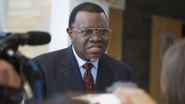 Génocide en Namibie: le président Geingob rejette l'offre de réparations allemande