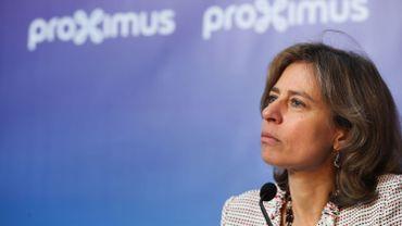 Action des travailleurs Proximus ce lundi pour réclamer la démission immédiate de Dominique Leroy
