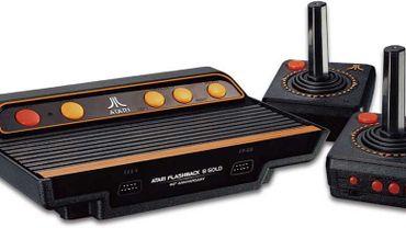 L'Atari Flashback 8 Gold HD s'inspire de la célèbre Atari 2600.