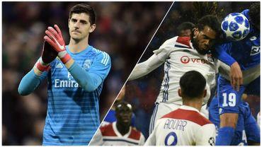 Courtois tranquille pour sa 1ère européenne avec le Real, Denayer et Lyon manquent une belle occasion