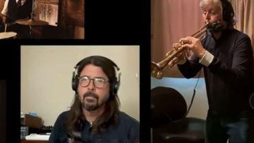 Paul McCartney à la trompette, avec Dave Grohl et Nathaniel Rateliff