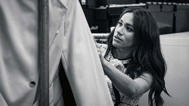 Meghan Markle s'essaie à la création de vêtements pour la bonne cause