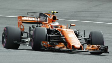 La McLaren-Honda de Stoffel Vandoorne