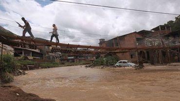 Pluies diluviennes, inondations et glissements de terrain au Brésil