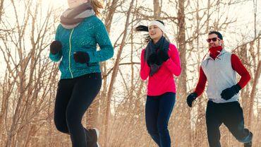 Courir lorsqu'il fait froid