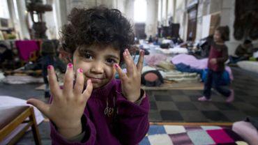 Les réfugiés afghans de l'église du Béguinage croient encore en un avenir en Belgique
