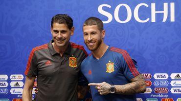 Fernando Hierro et Sergio Ramos