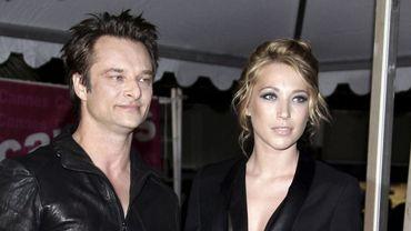 David Hallyday et Laura Smet photographié en 2010 à Cannes.