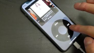 Cette application transforme votre iPhone en iPod Classic