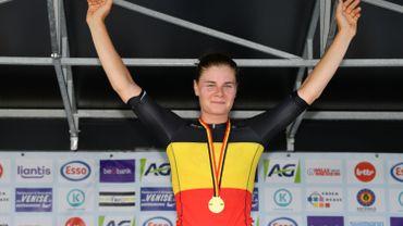 Lotte Kopecky conserve son titre national contre-la-montre