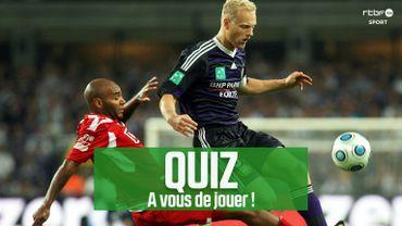 QUIZ RTBF : Retrouverez tous les joueurs qui ont participé aux test-matches entre Anderlecht et le Standard en 2009?