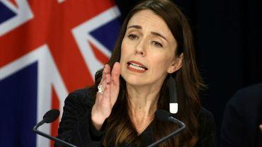 La Première ministre néo-zélandaise Jacinda Ardern, le 30 novembre 2020 à Wellington