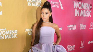 Ariana Grande dévoile la pochette de son prochain album