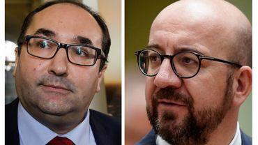 Laaouej et Michel, pas vraiment sur la même longueur d'onde.