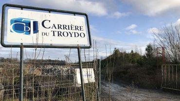 La carrière de pierre bleue du Troydo, à Ouffet.