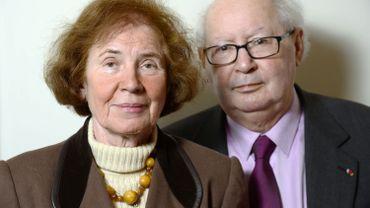 Serge et Beate Klarsfeld décorés par la France