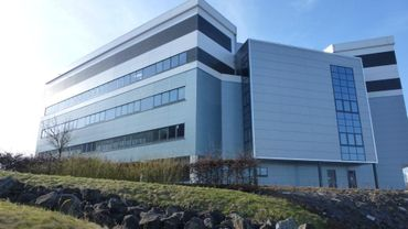 Une vue du nouveau bâtiment : l'incubator 2