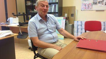 Jacques Hubert, le directeur de l'Institut Henri Maus (Namur) va demander des moyens supplémentaires pour accueillir les élèves demandeurs d'asile dans son établissement.