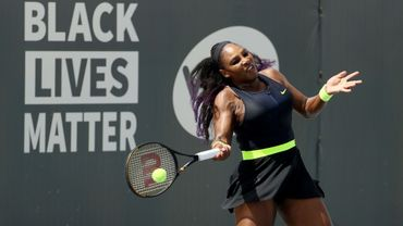 Serena Williams a gagné pour son retour sur les terrains, au tournoi de Lexington