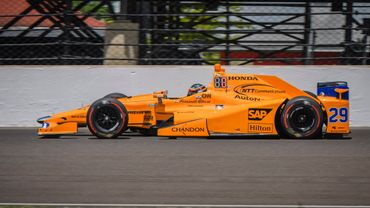 La McLaren-Andretti de Fernando Alonso