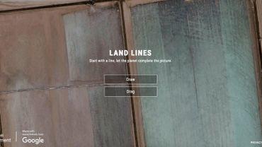 Land Lines : le jeu de cartes de Google