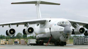 Image d'illustration d'un avion Iliouchine utilisé ici dans un cadre humanitaire