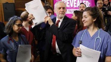 Le Labour accuse Johnson de vouloir brader le système de santé aux Américains
