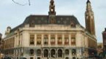 La maison communale de Charleroi.