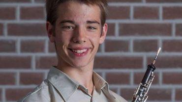 Le hautboïste Balder Dendievel remporte le Concours 'Honda'