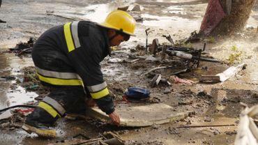 Un pompier afghan