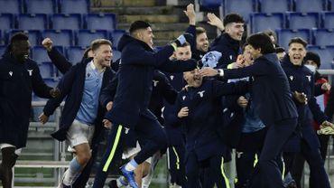 La Lazio a coloré Rome en bleu