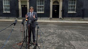 Guy Verhofstadt, chef de groupe de l'Alliance des démocrates et libéraux pour l'Europe.
