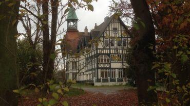 L'ancien hôtel Normandy près du lac de Genval.