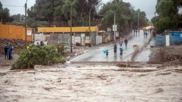 Etat d'exception dans le nord du Chili en raison de pluies torrentielles