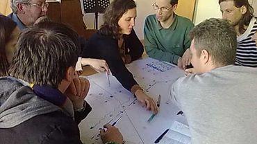 Un consultation citoyenne avait lieu ce dimanche quant à l'avenir du site de la prison de Forest-Saint-Gilles
