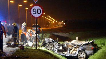C'est la gravité des accidents qui inquiète l'institut Vias(illustration)