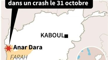 Crash d'un hélicoptère en Afghanistan