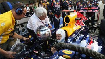 Ecclestone apporte son soutien à Vettel
