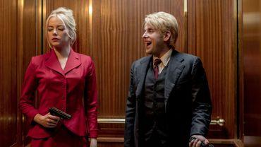 """Emma Stone retrouve Jonah Hill plus de dix ans après la comédie """"Supergrave"""" de Greg Mottola en 2007."""
