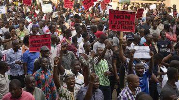 Dans les rues du Mali, le 11 août.