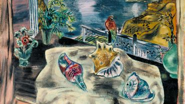 """Wings Over Water"" (1930) par Frances Hodgkins (1869-1947)"