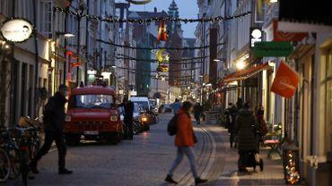 A Lübeck, mondialement connue pour son massepain et visitée par 18 millions de touristes en 2019, 20% de la surface dédiée aux commerces reste vide.
