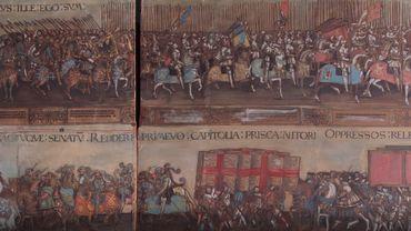 Une gravure sur bois très rare de Charles Quint vendue aux enchères à Bruxelles