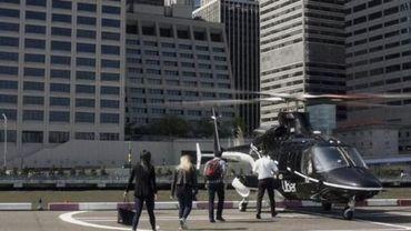 Uber annonce ses premières courses en hélicoptère à New York
