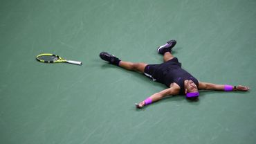 Rafael Nadal après sa victoire à l'US Open 2019